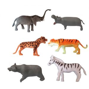 فیگور مدل حیوانات وحشی مجموعه 6 عددی