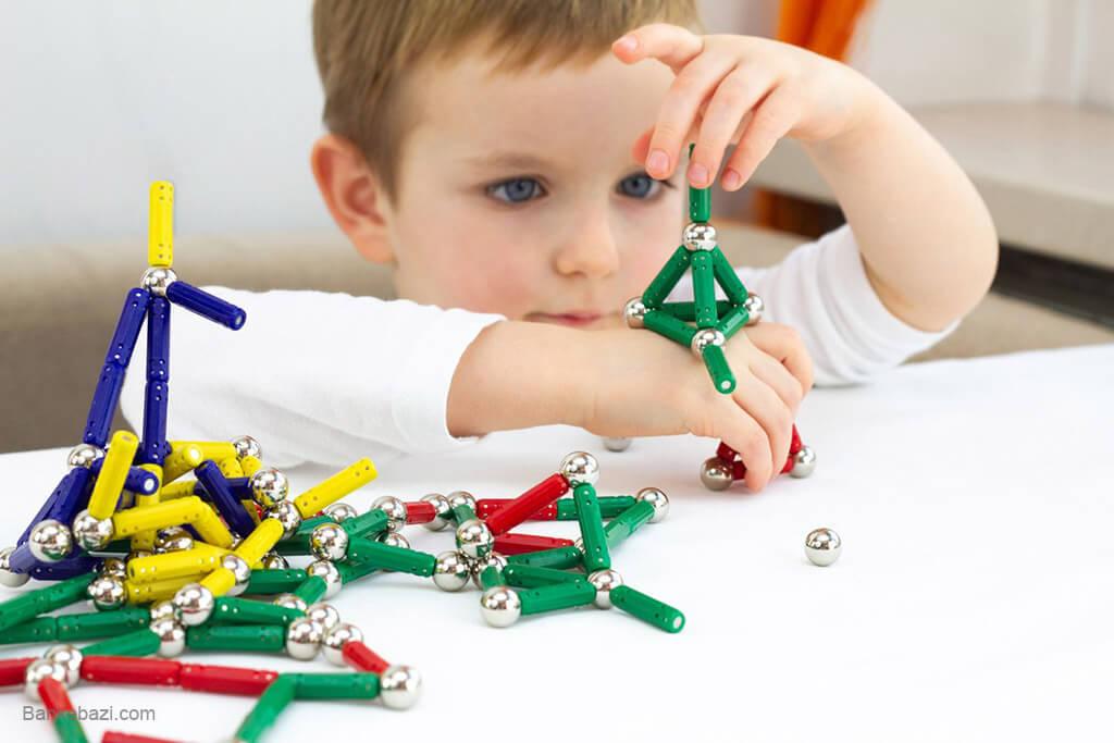 انواع وسایل بازی برای کودکان